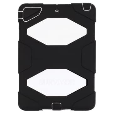 Griffin Survivor for iPad Air Black White