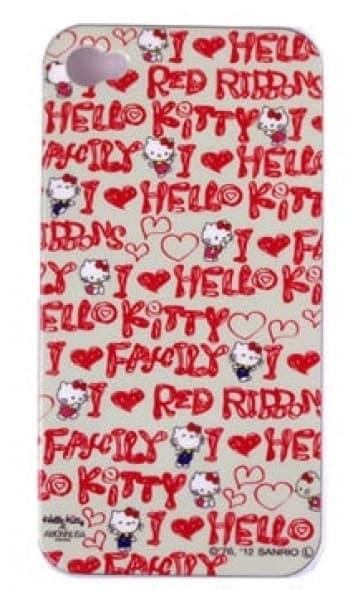 Hello Kitty I Love iPhone 4s Case