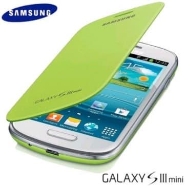 Samsung Mini Flip Cover Mint Green Galaxy S3