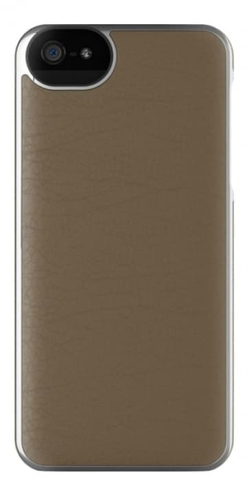 Adopted Leather Wrap Case for iPhone 5 5s SE Mustang/Silver