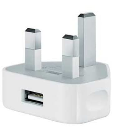 Apple USB Power Adapter for iPhone, iPad, iPod Touch, Nano (North America)
