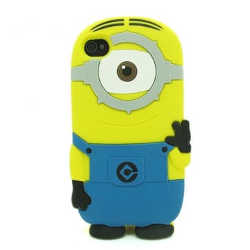 3D Single Eye Minion Despicable Me Case for iPhone 4 4s