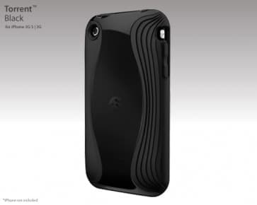 SwitchEasy Torrent Black Case for iPhone 3G 3GS