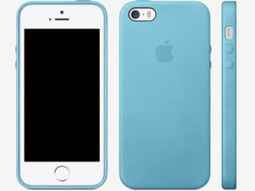 Leather Case for Apple iPhone 5s Case Blue
