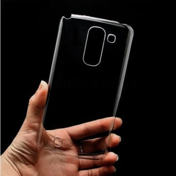 LG G Pro 2 Clear Snap Ultra Thin Scratch Resistant Plastic Case