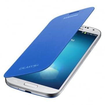 Samsung Galaxy S4 Light Blue Flip Cover