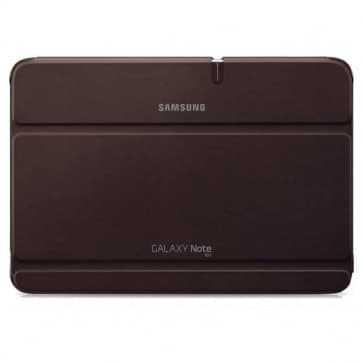 Samsung Galaxy Note 10.1 Book Cover Amber Brown