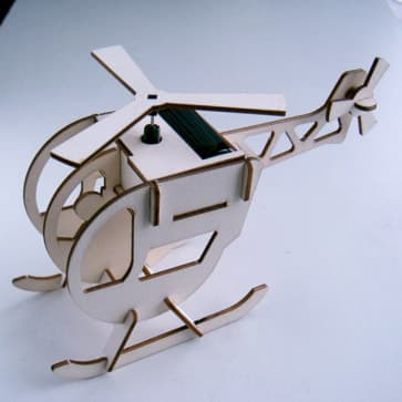 DIY Solar Kits Helicopter