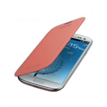 Samsung Galaxy S3 S III Flip Cover - Pink