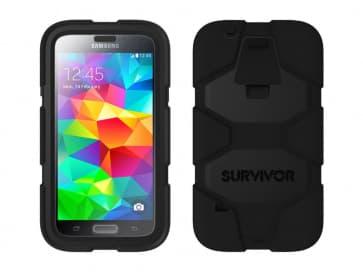 Griffin Survivor for Samsung Galaxy S5 Black