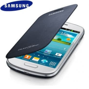 Samsung Mini Flip Cover Pebble Blue Galaxy S3