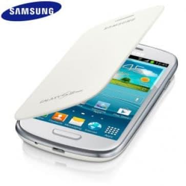 Samsung Mini Flip Cover White Galaxy S3