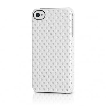 Incase Perforated White Snap Case for iPhone 4 4S