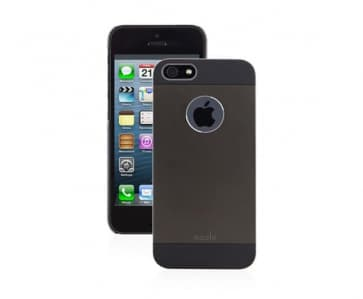 Moshi iGlaze Armour Metal Case for iPhone 5 - Black
