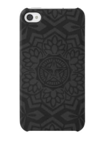 Shepard Fairey Snap Case - Black Yen
