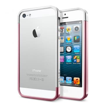 SGP Spigen iPhone 5 Case Linear EX Metal Pink