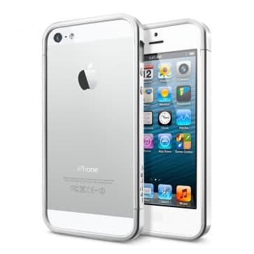 SGP Spigen iPhone 5 Case Linear EX Satin Silver