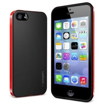 SGP Spigen Neo Hybrid Case iPhone 5S 5 Dante Red