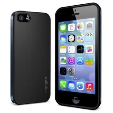 SGP Spigen Neo Hybrid Case iPhone 5S 5 Metal Slate