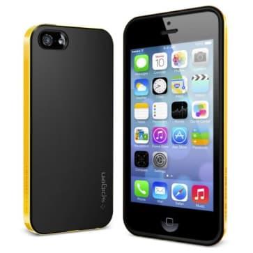 SGP Spigen Neo Hybrid Case iPhone 5S 5 Reventon Yellow