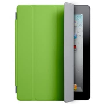 Smart Cover for Apple iPad 2 and the new iPad - Polyurethane Green
