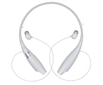LG HBS-700 Bluetooth Stereo Headset White