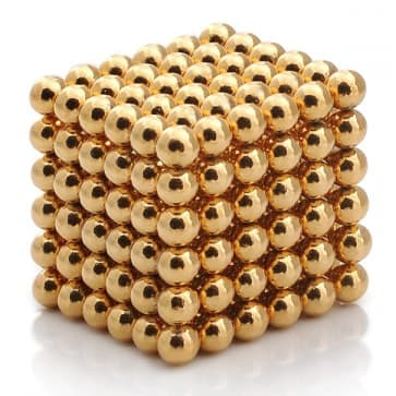 Buckyballs GOLD Edition Magnetic Puzzle