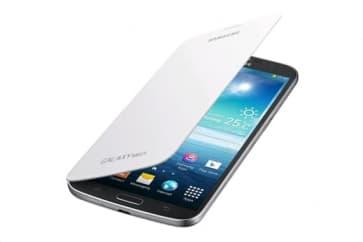 Samsung Flip Cover Case White for Galaxy Mega 6.3