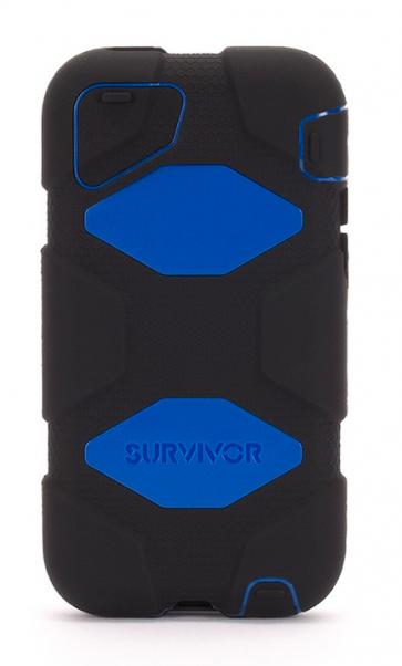 Griffin Survivor for iPhone 5C Black Blue