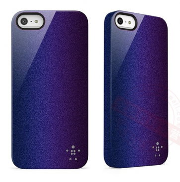Belkin Shield Color Shift for iPhone 5 5s Blacktop Indigo
