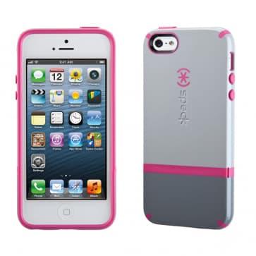 Speck Candyshell Flip iPhone 5 - Pebble/Gravel/Raspberry