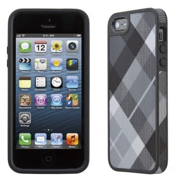 FabShell for iPhone 5 MegaPlaid Black