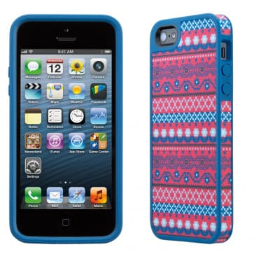 FabShell for iPhone 5 DigiTribe Pink/Blue