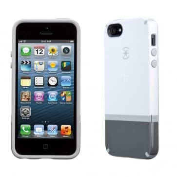 Speck Candyshell Flip iPhone 5 - White/Graphite/Pebble