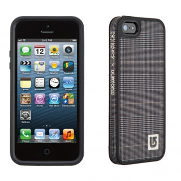 Speck FabShell Burton for iPhone 5 Prince of Wales Black