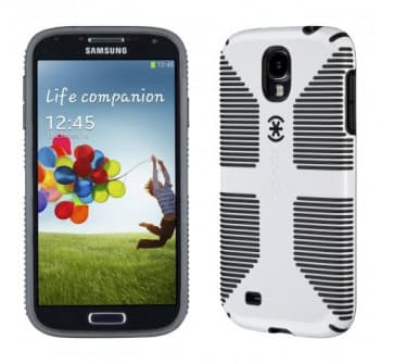 Speck CandyShell Grip for Galaxy S4 White Black