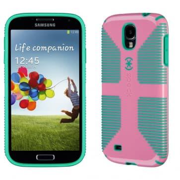 Speck CandyShell Grip for Galaxy S4 Flamingo Malachite