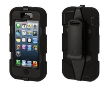 Griffin Survivior Case for iPhone Black