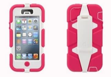 iPhone 5 Survivor White/Pink