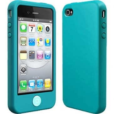 SwitchEasy Colors Turquoise Silicone Case for iPhone 4 4S
