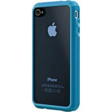 SwitchEasy Trim Hybrid Blue Case for Apple iPhone 4