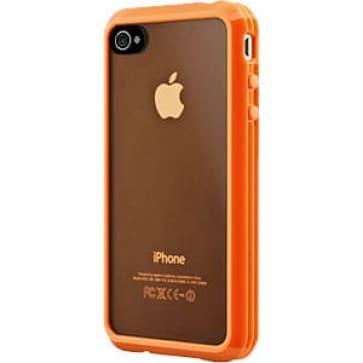 SwitchEasy Trim Hybrid Orange Case for Apple iPhone 4