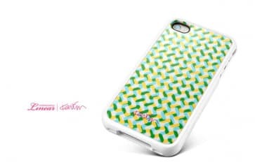 SPIGEN SGP iPhone 4 / 4S Case Linear Karim Rashid Karma - Green