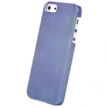 CAPDASE Karapace Purple Jacket-Pearl (with stand) for iPhone 5