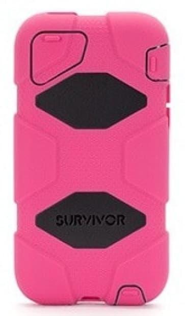 Griffin Survivor Pink Black for iPhone 5C