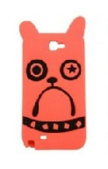 Marc Jacobs Galaxy Note 2 Case Pickles the Bulldog Orange