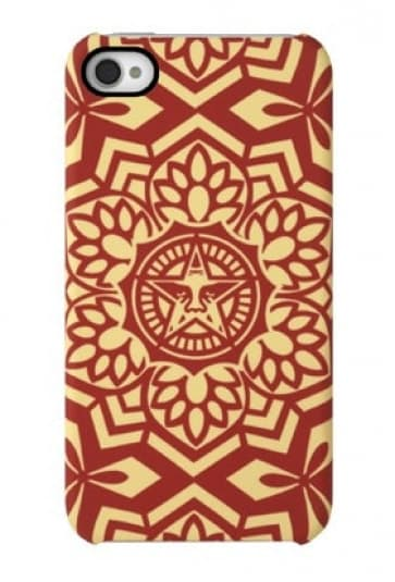 Shepard Fairey Snap Case - Red Yen