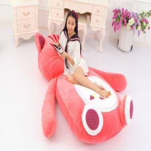 Giant Cat Plush Pillow Bed 200cm 6.5ft