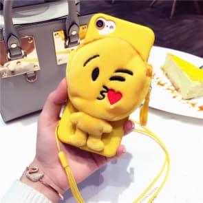 Emoticon Kiss iPhone 7 Plus Case