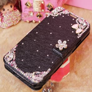 Luxury Flashy Rhinestone Flip Wallet Case for iPhone 7 Plus